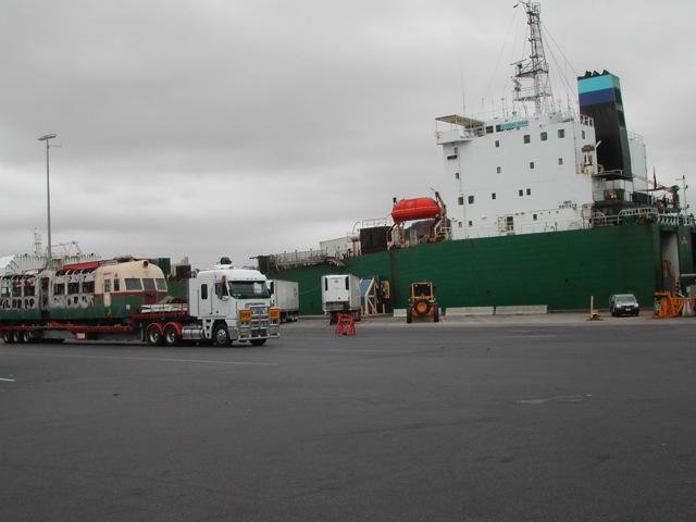 Marine Cargo - Australian Train & Railway Services Canberra